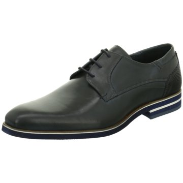 Will Lester Business Schnürschuh blau