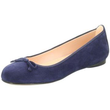 Unisa Klassischer Ballerina blau