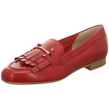 Donna Carolina Klassischer Slipper rot
