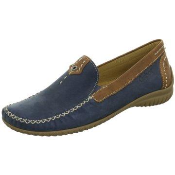 Gabor Komfort Slipper blau