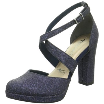 Tamaris Pumps blau