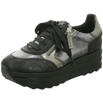 DL-Sport Plateau Sneaker schwarz