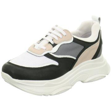 ELENA Italy Plateau Sneaker weiß