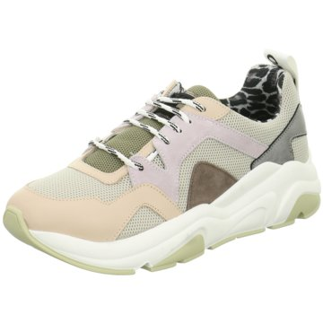 Meline Plateau Sneaker beige