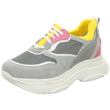 PS Poelman Plateau Sneaker grau