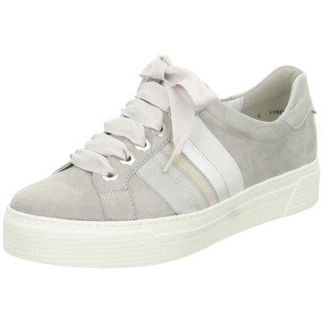 Semler Plateau Sneaker grau