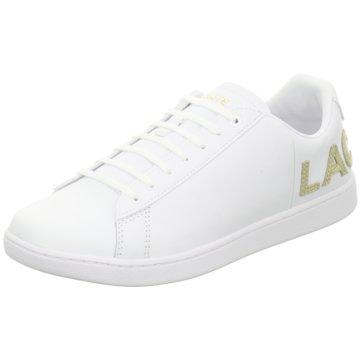 Lacoste Sneaker Low weiß