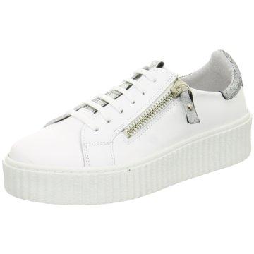 Online Shoes Plateau Sneaker weiß