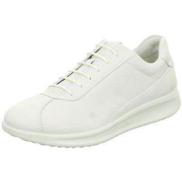 Ecco Komfort Schnürschuh weiß
