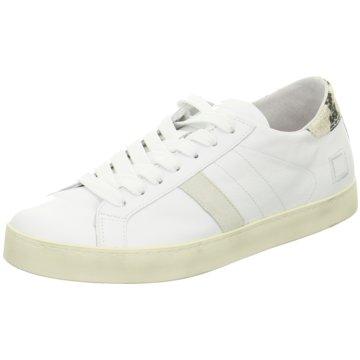 D.A.T.E. Sneaker weiß