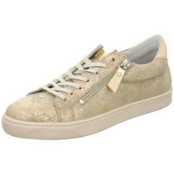 SPM Shoes & Boots Sportlicher Schnürschuh gold