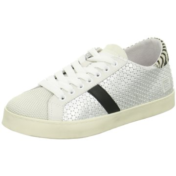 D.A.T.E. Sneaker Low weiß