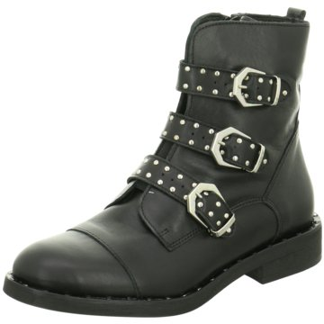 ELENA Italy Klassische Stiefelette schwarz