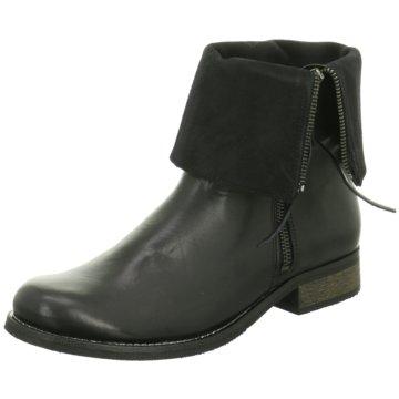 Online Shoes Klassische Stiefelette schwarz