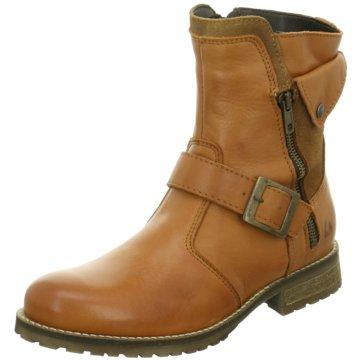 Online Shoes Biker Boot braun