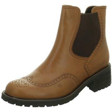 Gabor comfort Chelsea BootChelsea-Bootie braun