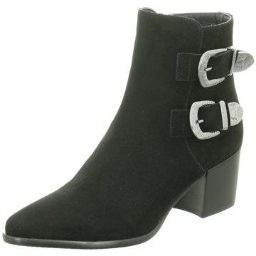 Donna Carolina Klassische Stiefelette schwarz