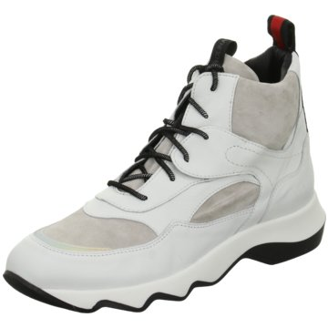 Donna Carolina Sneaker High weiß
