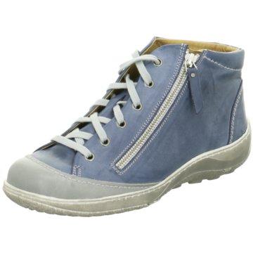 Dessy Komfort Stiefelette blau