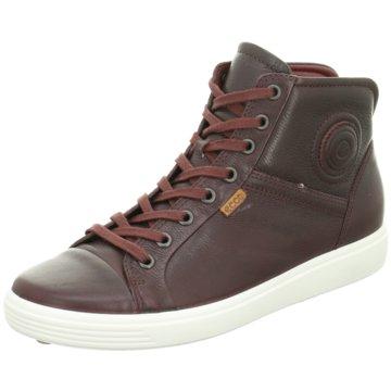 Ecco Sneaker HighSoft 7 rot