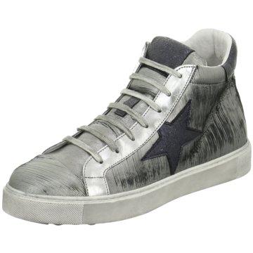 ELENA Italy Sneaker High silber