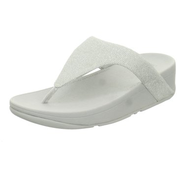 FitFlop Bade- Zehentrenner silber