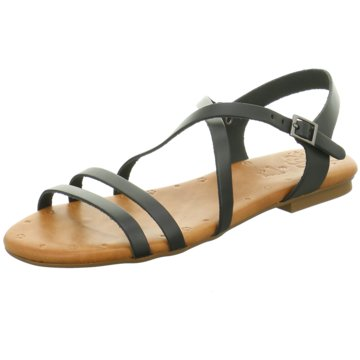 Porronet Sandale schwarz