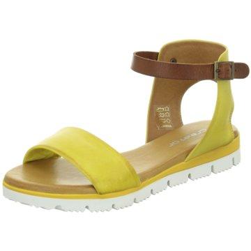 ELENA Italy Sandalette gelb