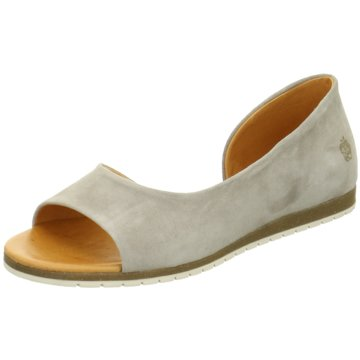 Apple of Eden Peeptoe Ballerina grau