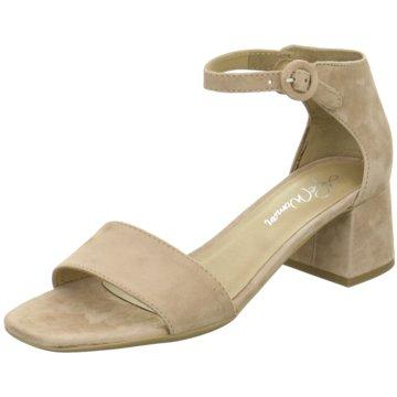 Alpe Woman Shoes Riemchensandalette beige