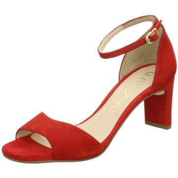 Unisa Modische Sandaletten rot