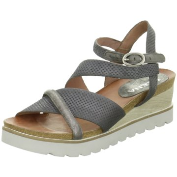 ELENA Italy Sandalette grau