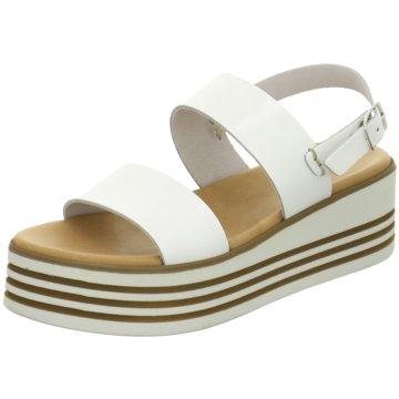 ELENA Italy Top Trends Sandaletten weiß
