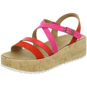 Paul Green Plateau Sandalette pink