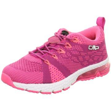 CMP Sportlicher Schnürschuh pink