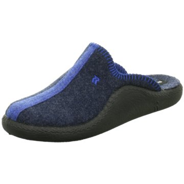 Westland HausschuhMokasso 62 blau