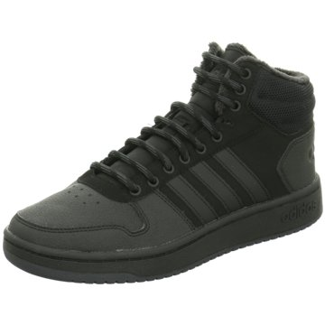 adidas Sneaker HighHoops 2.0 Mid schwarz