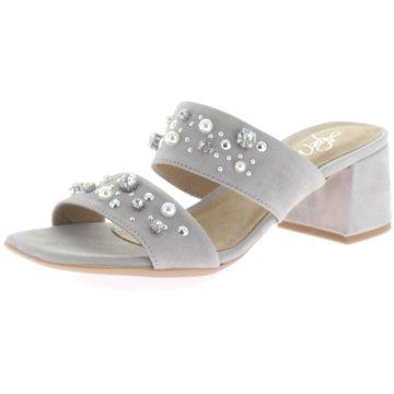 Alpe Woman Shoes Klassische Pantolette grau