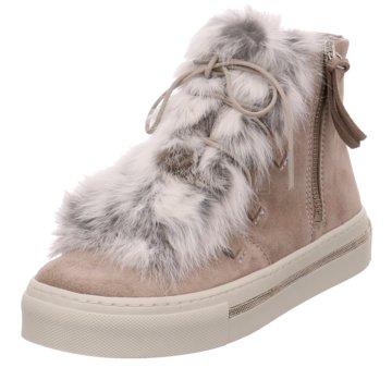 Alpe Woman Shoes Winterboot beige