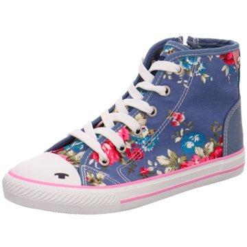 Tom Tailor Sneaker High blau