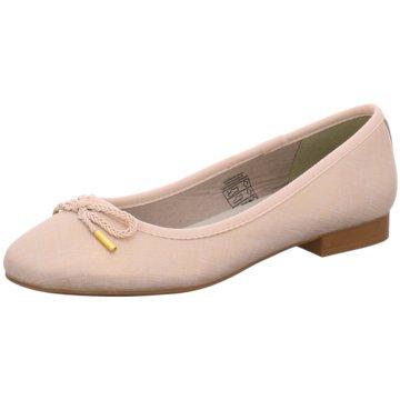 Idana Klassischer Ballerina beige