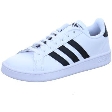 adidas Sportlicher Schnürschuh weiß