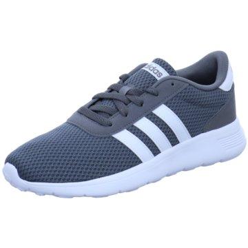 adidas Sportlicher Schnürschuh grau