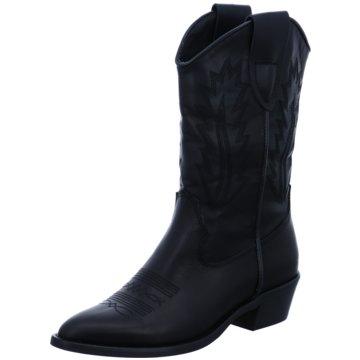 Alpe Woman Shoes Cowboystiefel schwarz