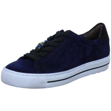 Paul Green Sneaker Low4835 blau