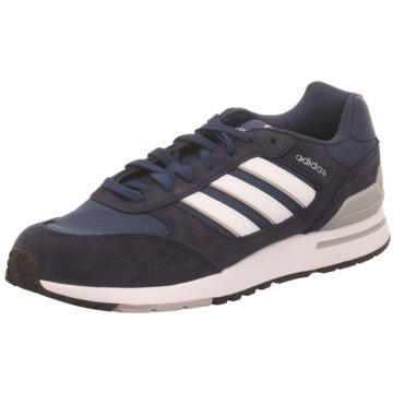 adidas Sportlicher SchnürschuhRun 80`s blau
