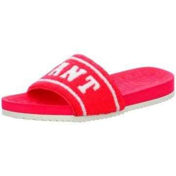 Gant Pool Slides pink