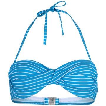 stuf Bikini Tops blau