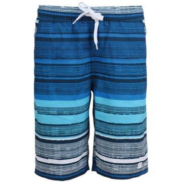 stuf BadeshortsKEY WEST-K Ki. Beachshorts blau
