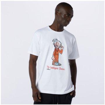 New Balance T-ShirtsNB ART TEE - MT11521_WT weiß